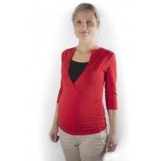 Tričko tehotenské a dojčiace s výstrihom