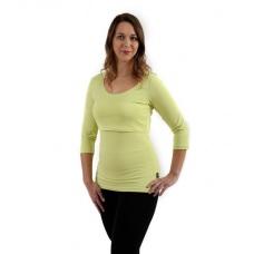 Tričko tehotenské a na dojčenie 3/4 rukáv