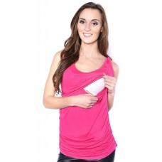 Tričko bez rukávu tehotenské a na dojčenie