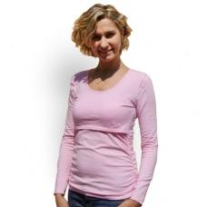 Tričko tehotenské a dojčiace - dlhý rukáv