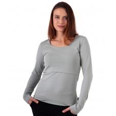Tričko tehotenské a materské s dlhým rukávom