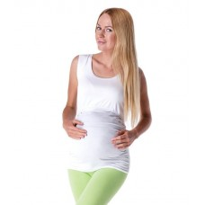 Tehotenské a dojčiace tričko bez rukávu