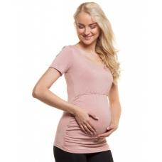 Tehotenské a dojčiace tričko s krátkym rukávom
