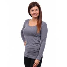 Tehotenské a dojčiace tričko s dlhým rukávom